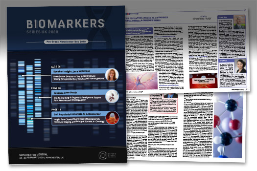 Biomarkers Series UK 2020 Newsletter Graphics Carousel