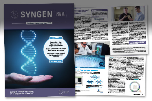 SynGen UK Newsletter Graphic Carousel